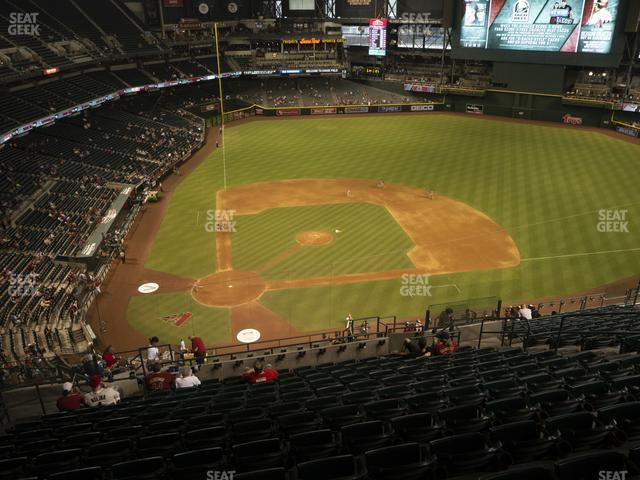 Chase Field Section 312 view