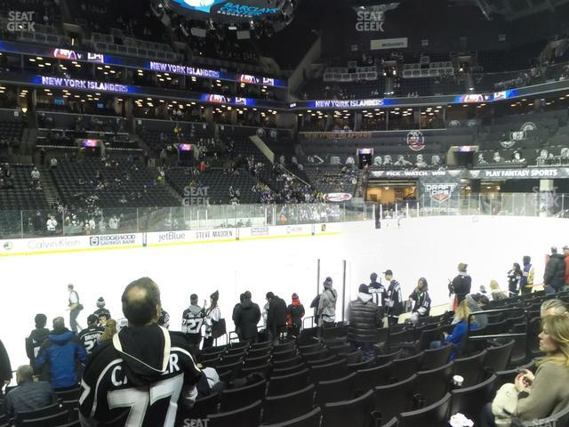Barclays Center Section 9 view