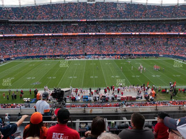 Empower Field at Mile High Section 337 view
