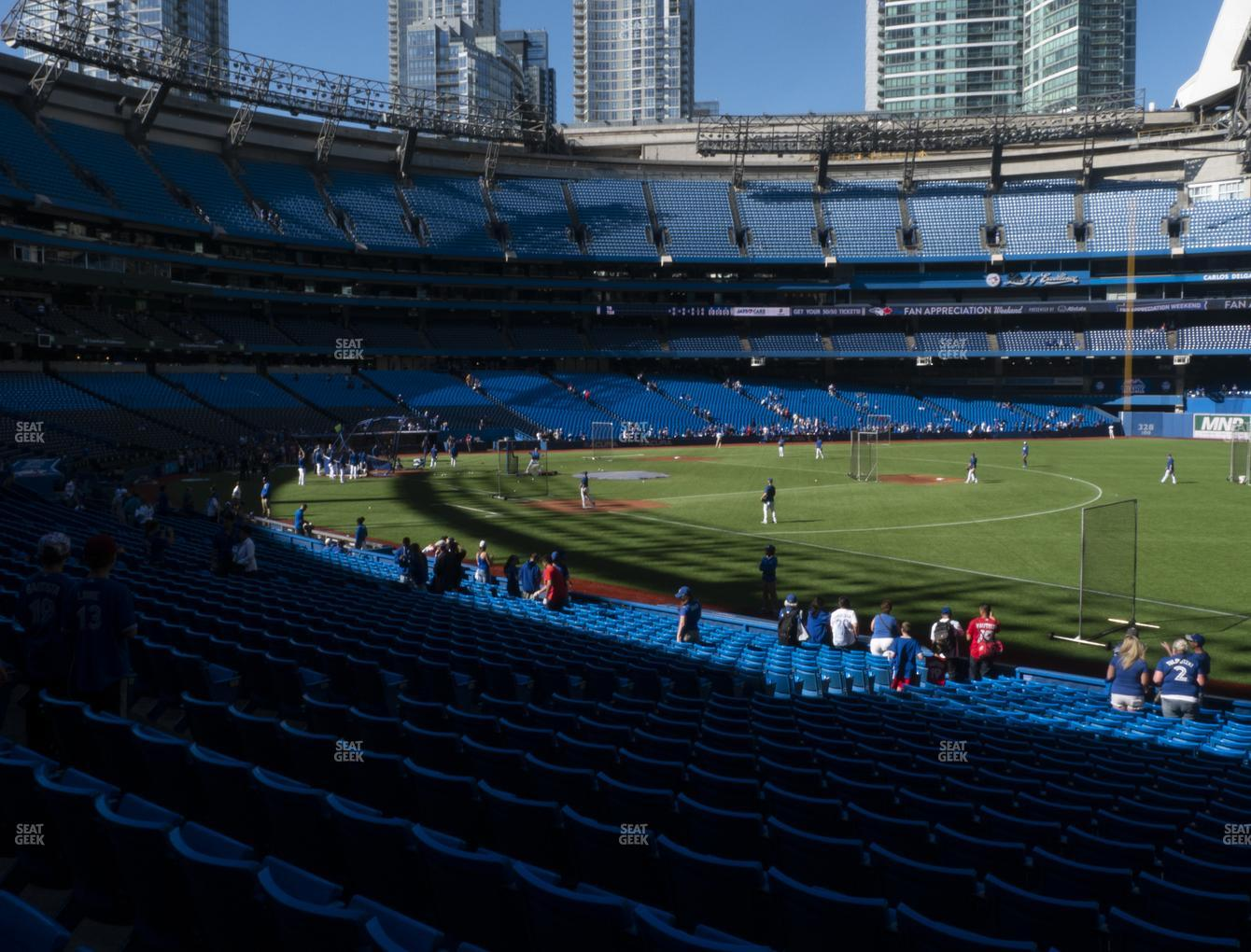 Toronto Blue Jays at Rogers Centre Section 113 AR View