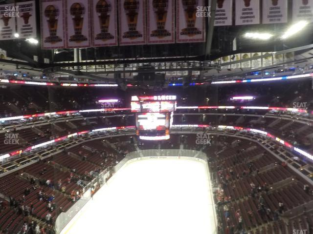 United Center Section 325 view