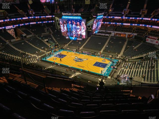 Spectrum Center Section 223 view