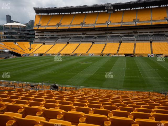 Heinz Field Section 112 view
