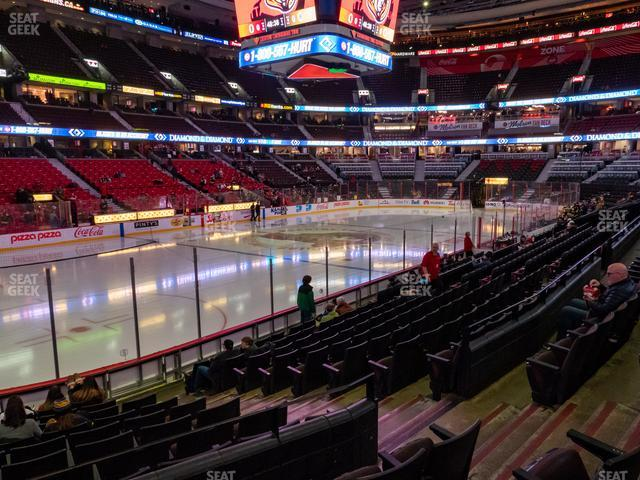 Canadian Tire Centre Section 119 view
