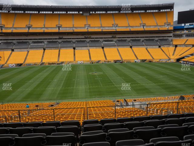 Heinz Field Section 210 view