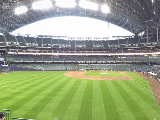 Miller Park Section 235 view