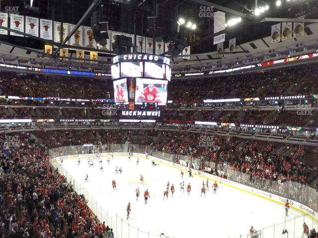 United Center Section 212 view