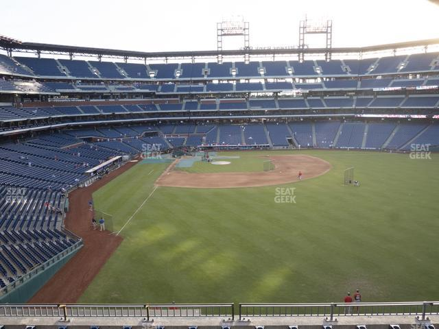 Citizens Bank Park Section 204 view