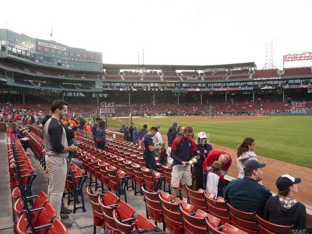 Fenway Park Right Field Box 6 view