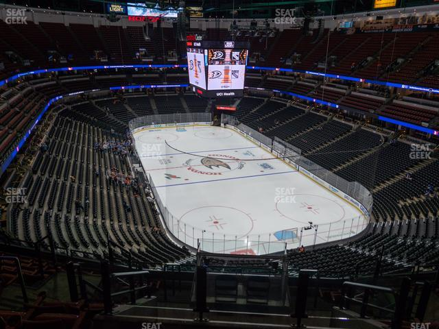 Honda Center Section 403 view