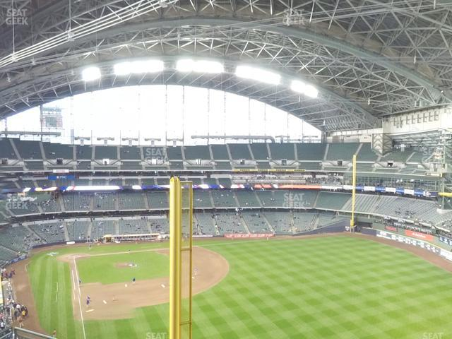 Miller Park Section 404 view
