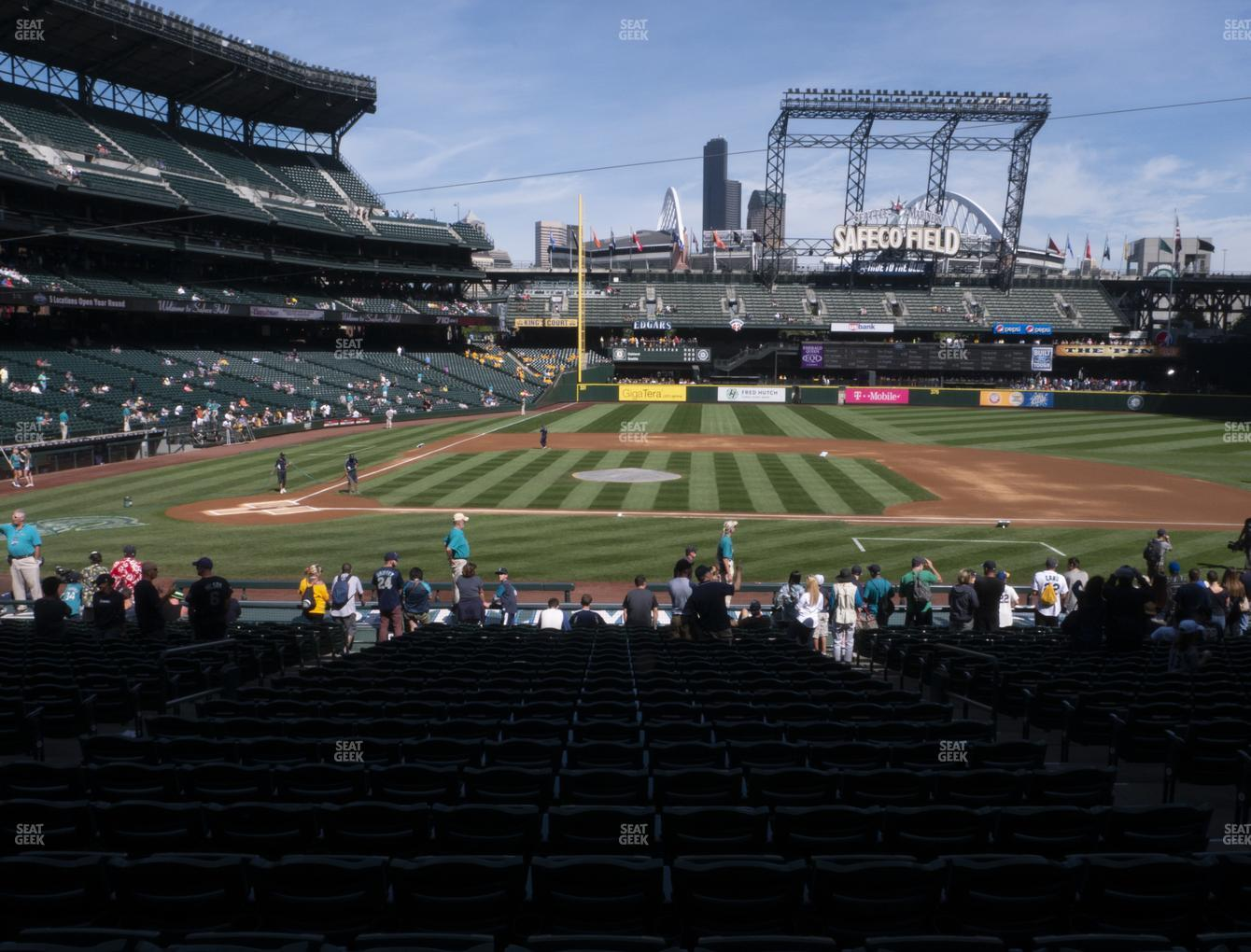 Seattle Mariners at T-Mobile Park Section 123 View