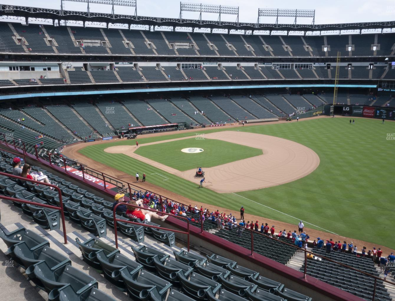 Concert at Globe Life Park Section 239 View