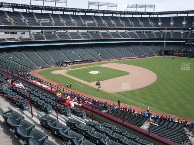 Globe Life Park Section 239 view