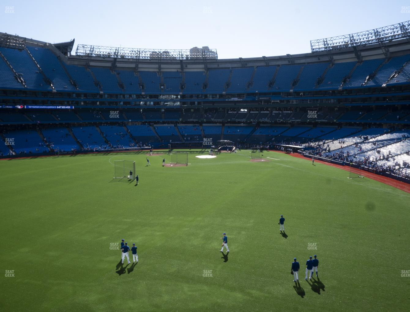 Toronto Blue Jays at Rogers Centre Section 244 R View