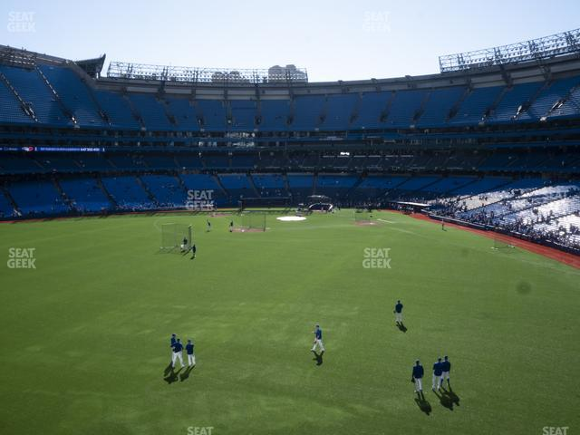 Rogers Centre Section 244 R view