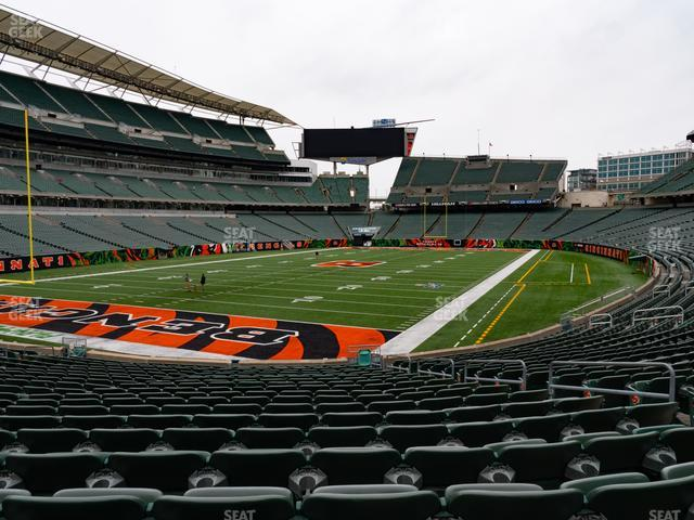 Paul Brown Stadium Section 150 view