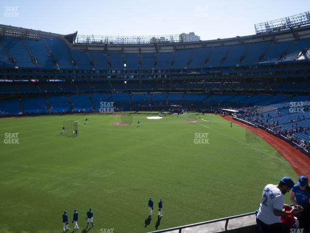 Rogers Centre Section 242 R view