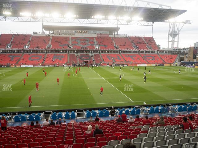 BMO Field Section 108 view