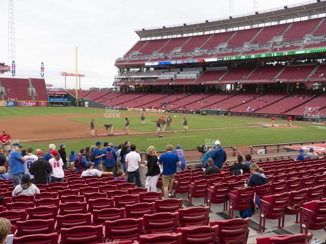 Great American Ball Park Section 115 view