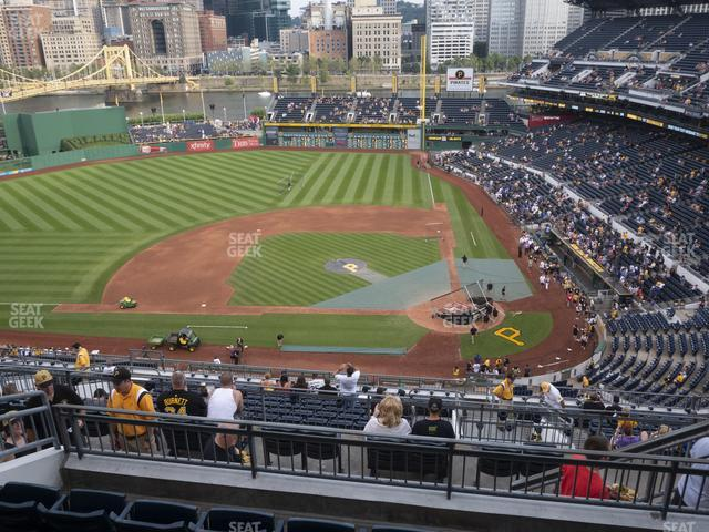 PNC Park Section 321 view