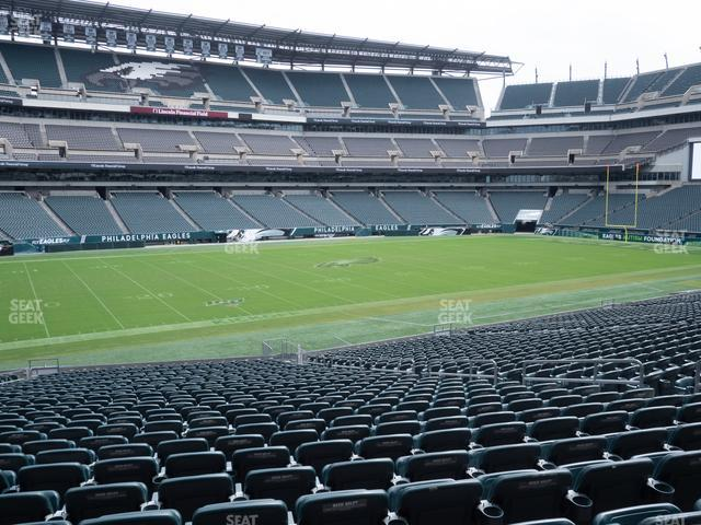 Lincoln Financial Field Section 136 view