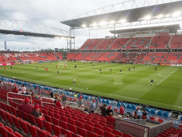 BMO Field Section 105 view