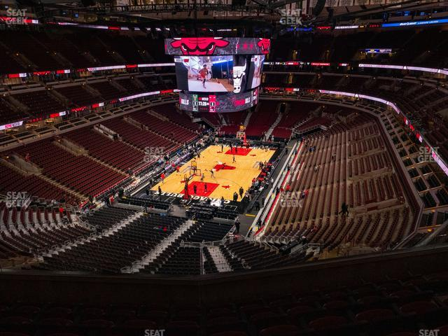 United Center Section 324 view