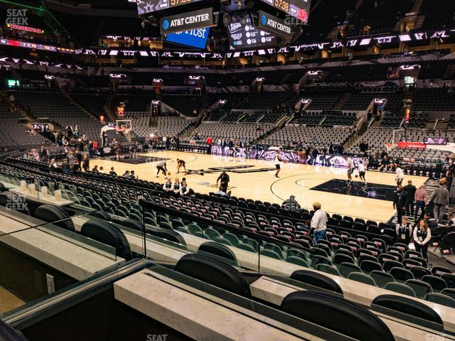 AT&T Center Box 20 A view