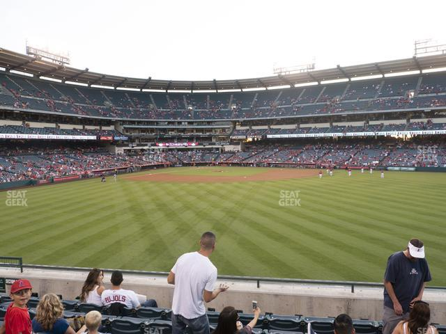 Angel Stadium of Anaheim Section 239 view