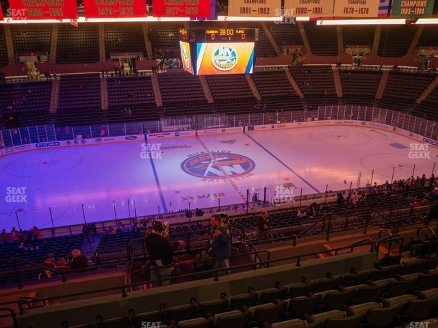 Nassau Veterans Memorial Coliseum Section 224 view