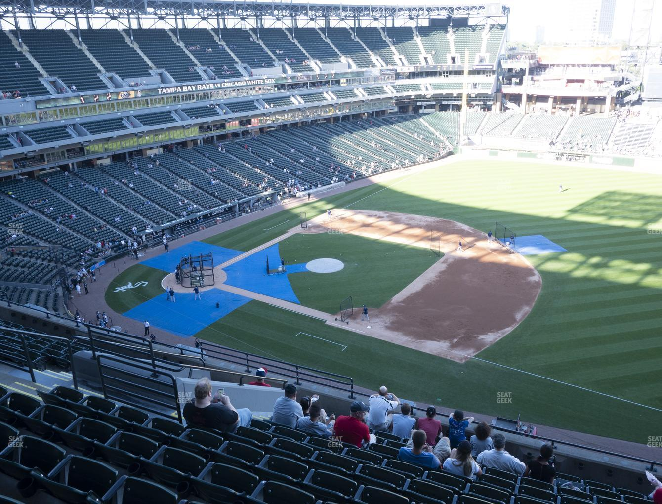 Chicago White Sox at Guaranteed Rate Field Section 520 View