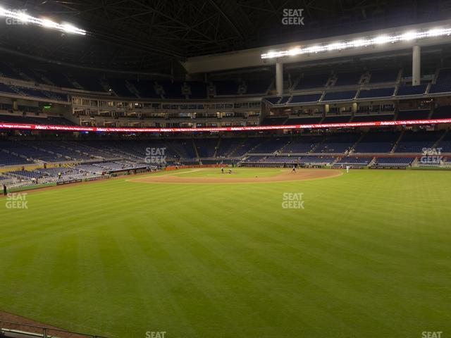 Marlins Park Section 36 view