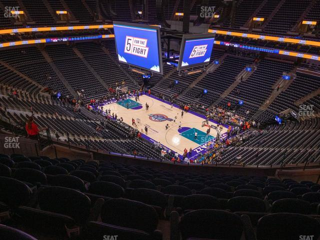 Vivint Smart Home Arena Section 107 view