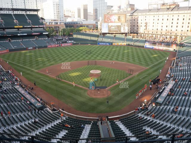 Oriole Park at Camden Yards Section 338 view