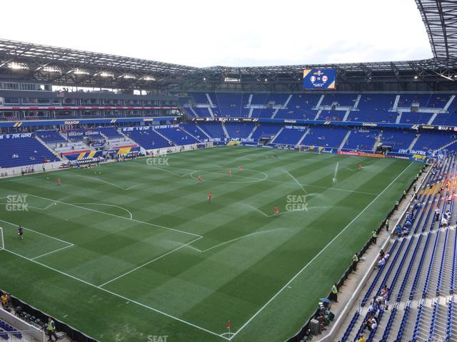 Red Bull Arena Section 231 view