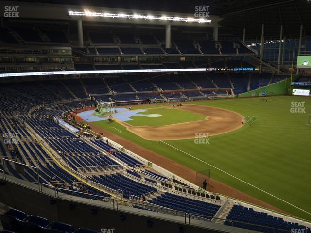 Marlins Park Section 203 view