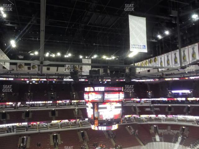 United Center Section 319 view