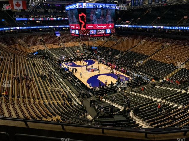 Scotiabank Arena Section 305 view
