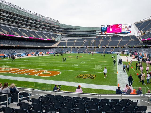 Soldier Field Section 149 view