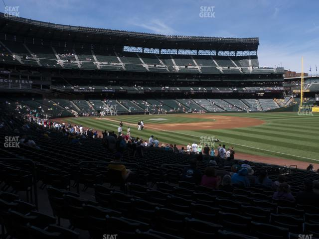 T-Mobile Park Section 115 view