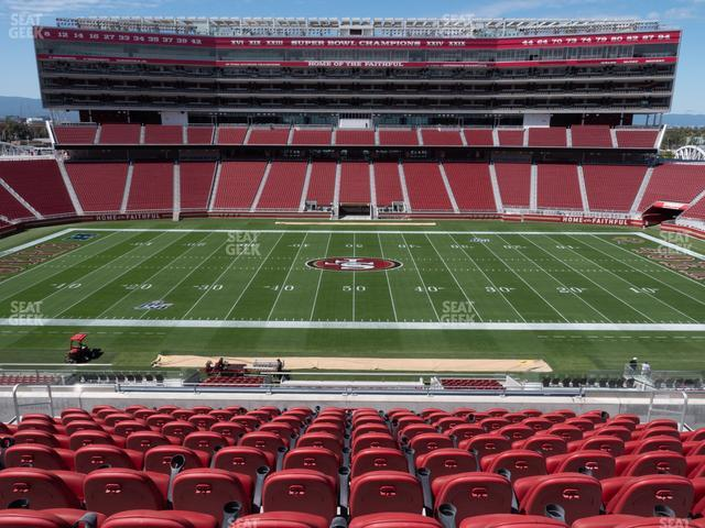 Levi's Stadium Section C 216 view
