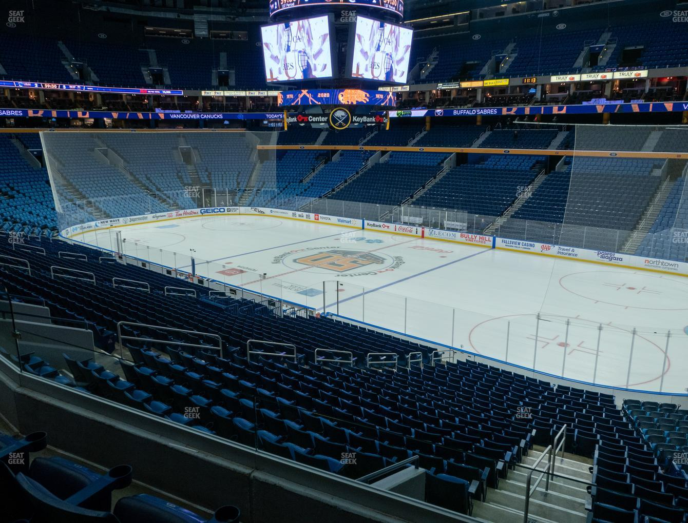 Buffalo Sabres at KeyBank Center Section 204 View