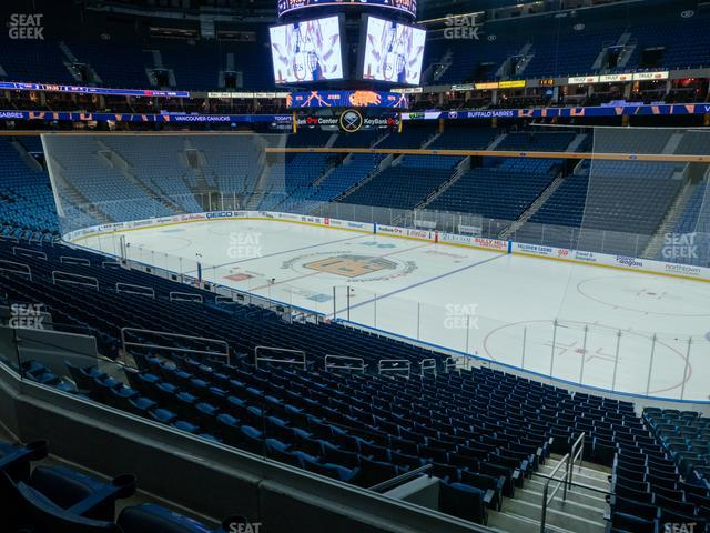 KeyBank Center Section 204 view