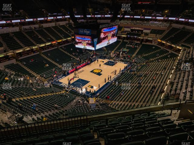 Bankers Life Fieldhouse Section 229 view
