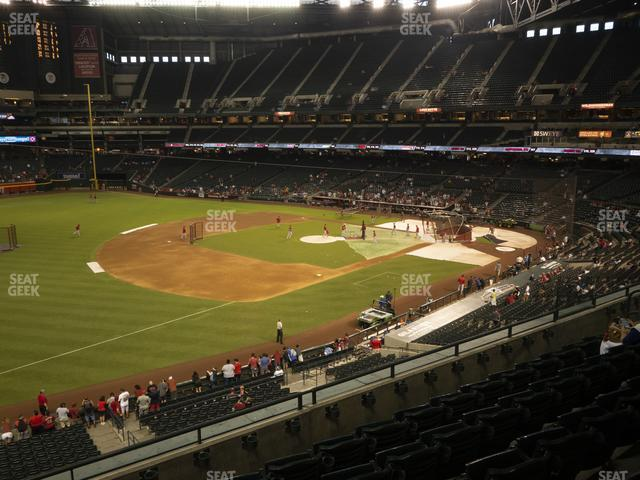 Chase Field Section 216 view