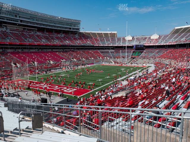Ohio Stadium Section 32 A view