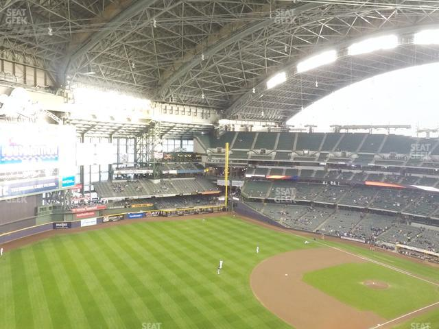 Miller Park Section 435 view