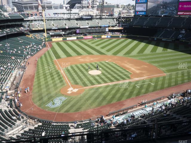 T-Mobile Park Section 327 view