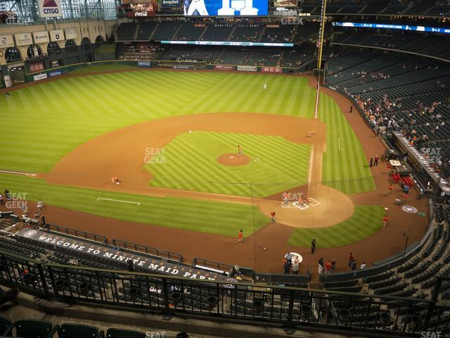 Minute Maid Park Section 315 view